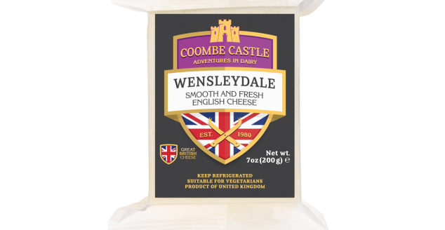 Coombes Castle Wensleydale Cheese 200gr