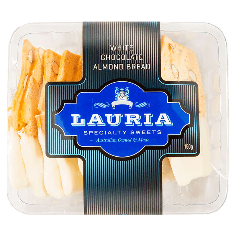 Lauria Almond Bread White Chocolate