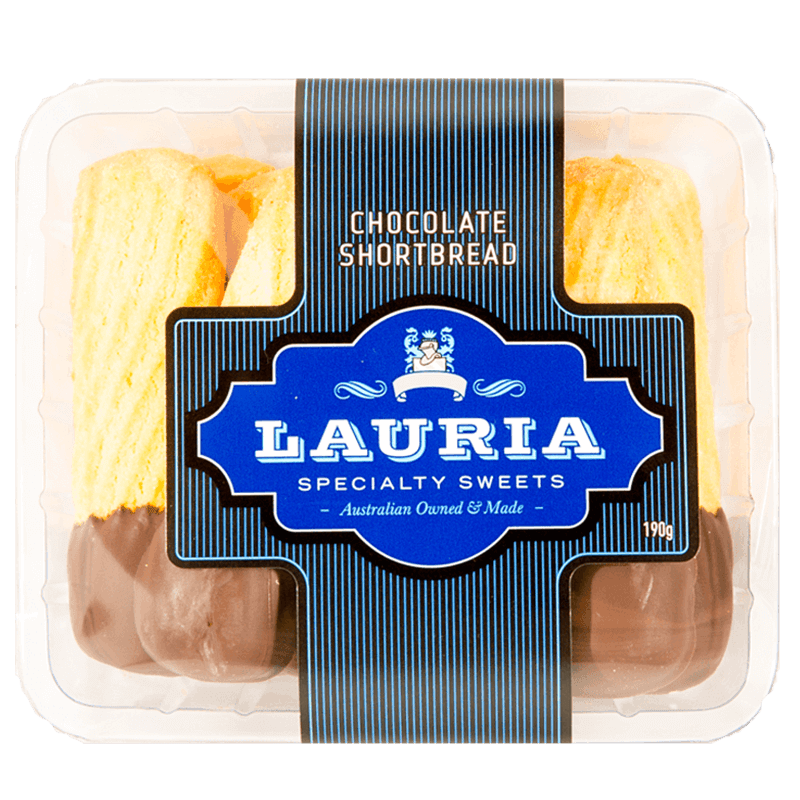 Lauria Chocolate Shortbread Biscuit