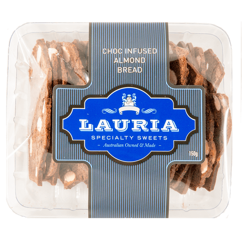 Lauria Almond Bread Chocolate Infused