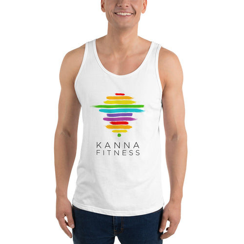 Rainbow Unisex Tank Top from Bella Canvas