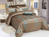 Code (BRD-014) Bridal Comforter 8 Piece Set