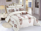 Code (BRD-001) Bridal Comforter 8 Piece Set