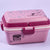 Triple Play Pink Color Lunch Box