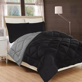 6 PCs Comforter Set - Black Diamond