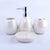 Ceramic Bath Set 4 Piece, Code (BTS-203)