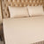 Fitted Bed Sheet - Cotton Satin Ivory
