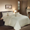 6 PCs Cotton Satin Comforter Set - Off White
