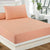 Fitted Bed Sheet - Coral