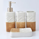 Code (BTS-320), Ceramic Bath Set 4 Piece