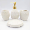 Ceramic Bath Set 4 Piece, Code (BTS-366)