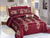 Code (BRD-004) Bridal Comforter 8 Piece Set