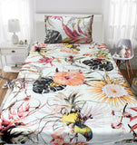 Flowers Single Bed Set
