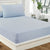 Fitted Bed Sheet - Light Blue