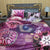 6 PC's Cotton Satin Duvet Cover Set - Rave