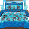 6 PCs Comforter Set - Grey Rose