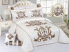 Code (BRD-006) Bridal Comforter 8 Piece Set