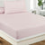 Fitted Bed Sheet - Light Lilac