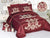 Code (BRD-007) Bridal Comforter 8 Piece Set