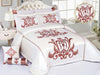Code (BRD-008) Bridal Comforter 8 Piece Set