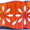 Flower Style Wooden Basket