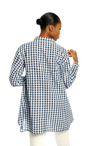 Woven Searsucker Button-up