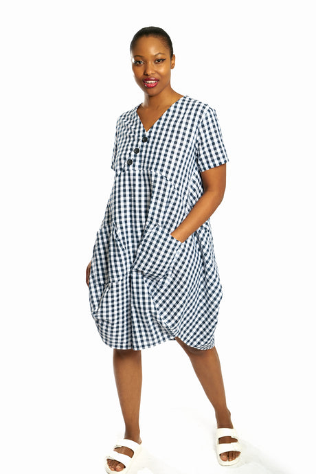 Short Cocoon Dress