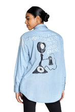 Load image into Gallery viewer, House phone Denim Shirt
