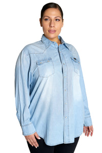 House phone Denim Shirt