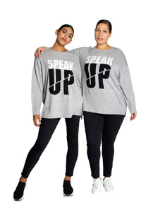 Speak Up Sweater