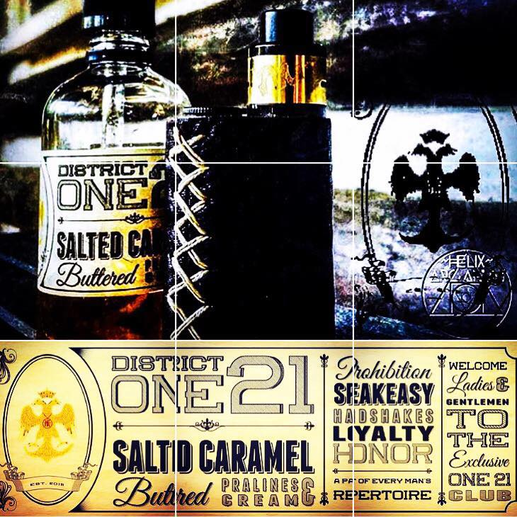 Salted Caramel |<br>  by District One 21 - Wholesale Vape Supply | E-Liquids | Electronic Cigarettes Drip Cave®