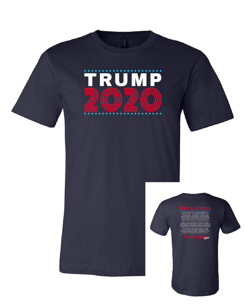 Trump 2020 w/MAGA back - Limited Edition