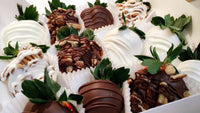 Chocolate Covered Strawberries w/toppings