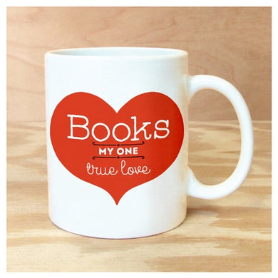 Mug Books True Love