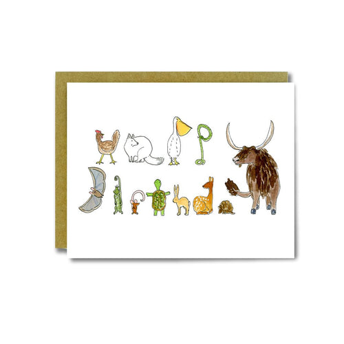 BD Animal Letters