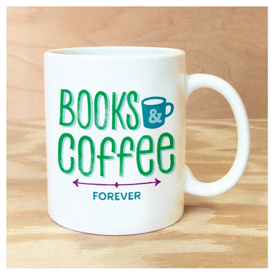 Mug Books & Coffee