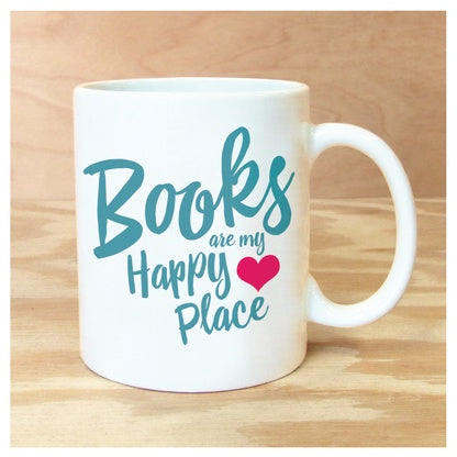 Mug Books Happy Place