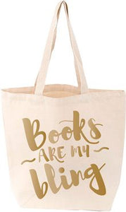 Books Are My Bling Tote