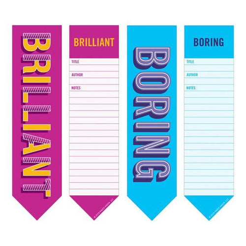 Bookmark Pad: Boring/Brilliant