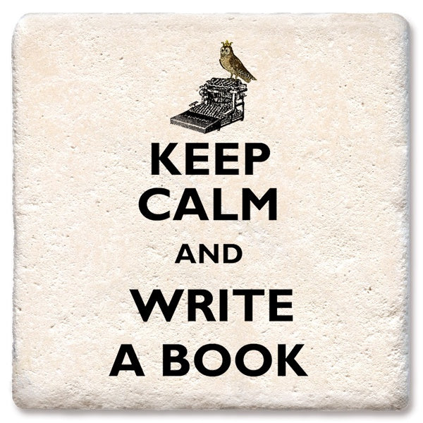 Keep Calm Write a Book M