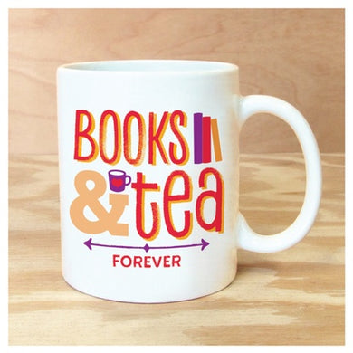Mug Books & Tea Forever