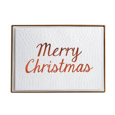 CHN Cable Knit Christmas Boxed Cards
