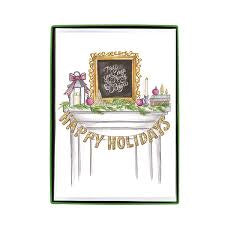 CNH Happy Holidays Mantle Boxed Cards
