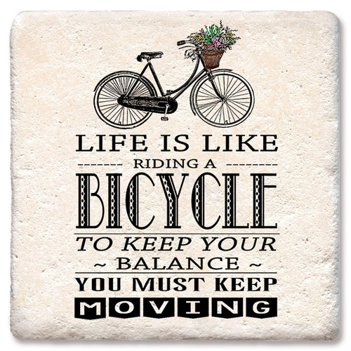 Life is Like a Bicycle Coaster