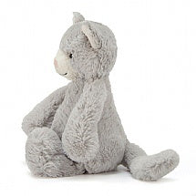 Bashful Grey Kitty - Medium