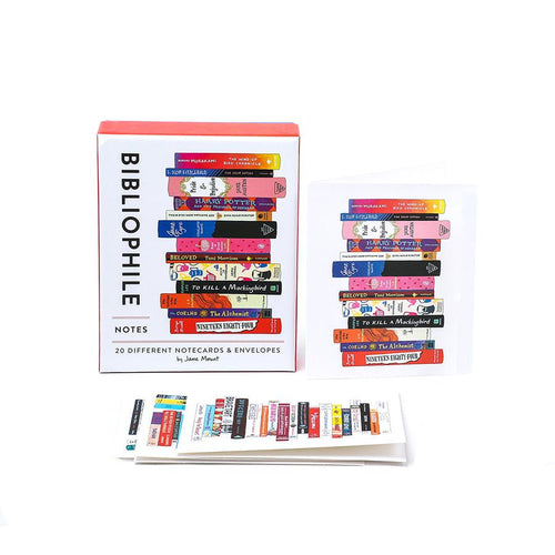 Biblio Note Cards Boxed