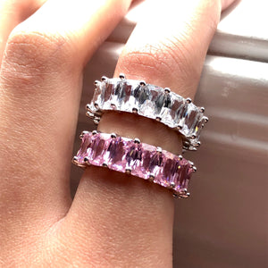 SASS Pink Band Ring