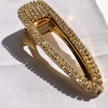 "Load image into Gallery viewer, ""Gold Bling"" Hair Clip"