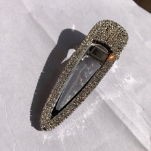 "Load image into Gallery viewer, ""Silver Bling"" Hair Clip"