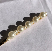 "Load image into Gallery viewer, ""Pearl"" Slip Hair Pin"